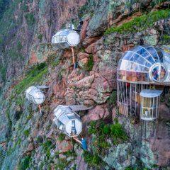 Несекојдневниот хотел Skylodge Adventure Suits