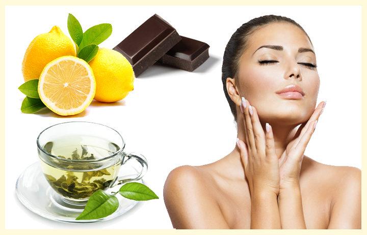 Преку исхрана до сјајна и чиста кожа