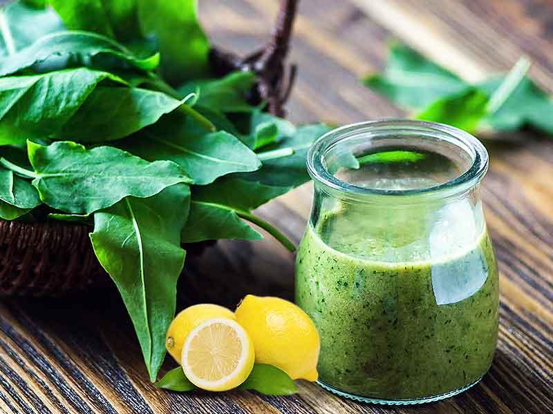 Зелен сок за обновување на енергијата