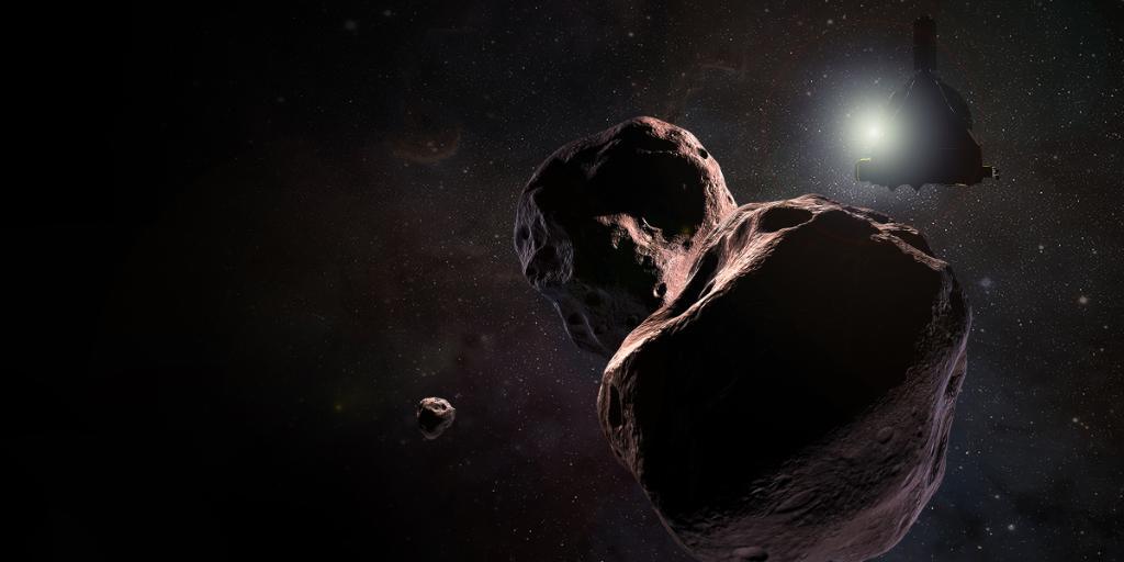 Вселенската сонда New Horizons со нова одредница