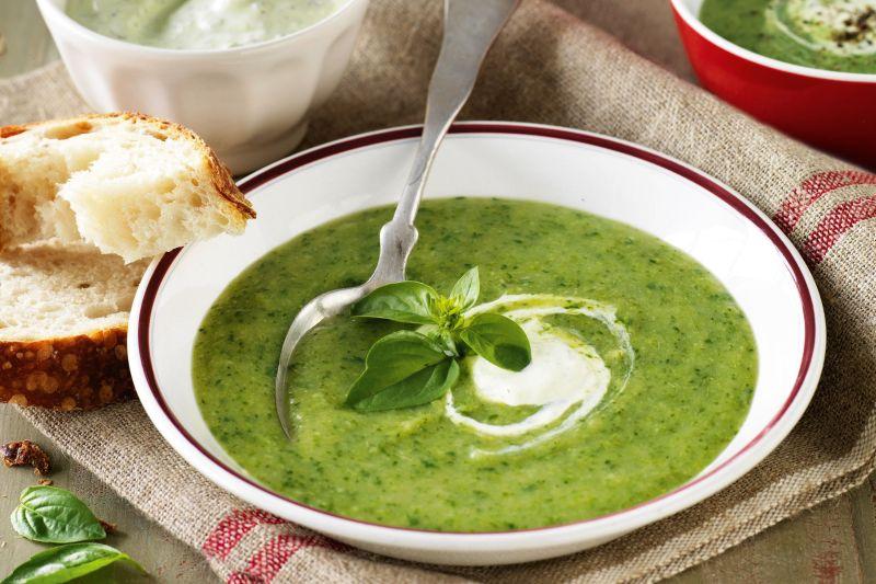 Вкусна и здрава крем супа од блитва