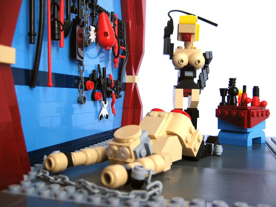 Бизарен тренд – порно филмови и слики со Lego фигури