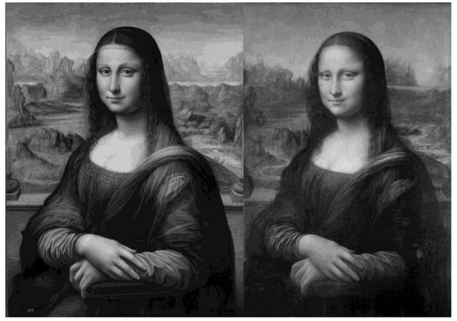 На што се должи генијалноста за сликање на Леонардо да Винчи
