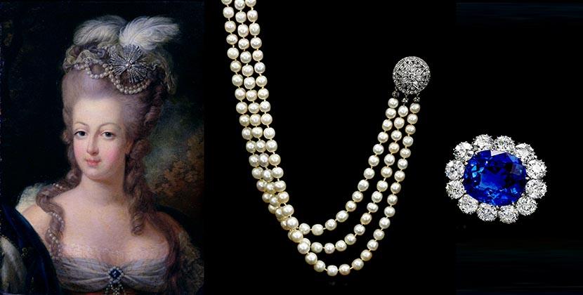 Се продава накитот на Марија Антоанета