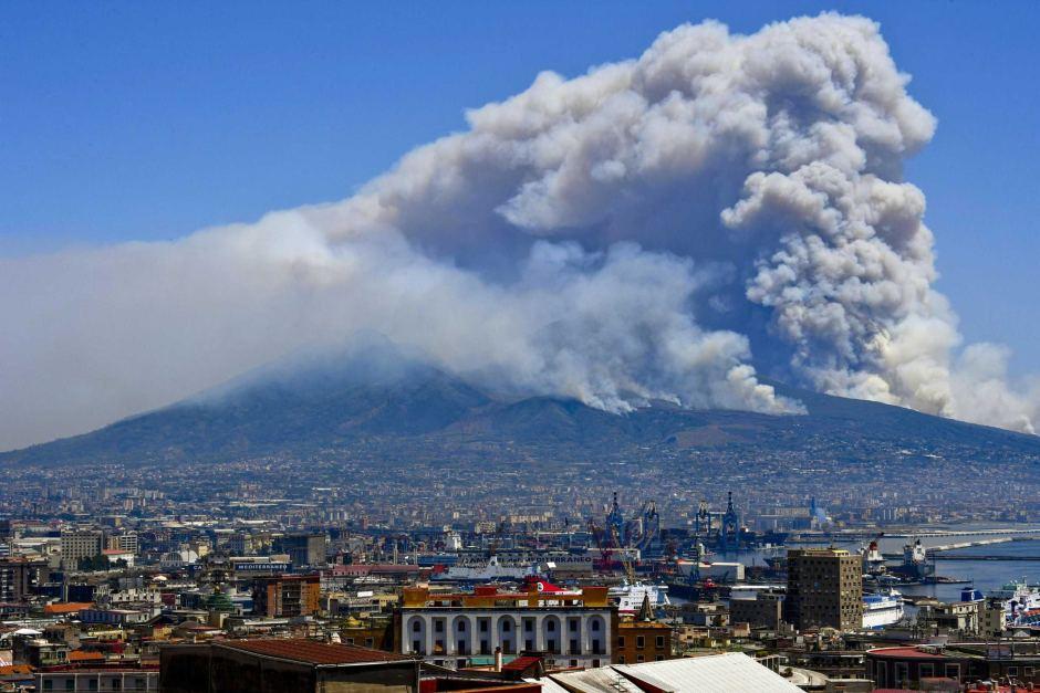 Ерупцијата на Везув и неговото разорно уништување