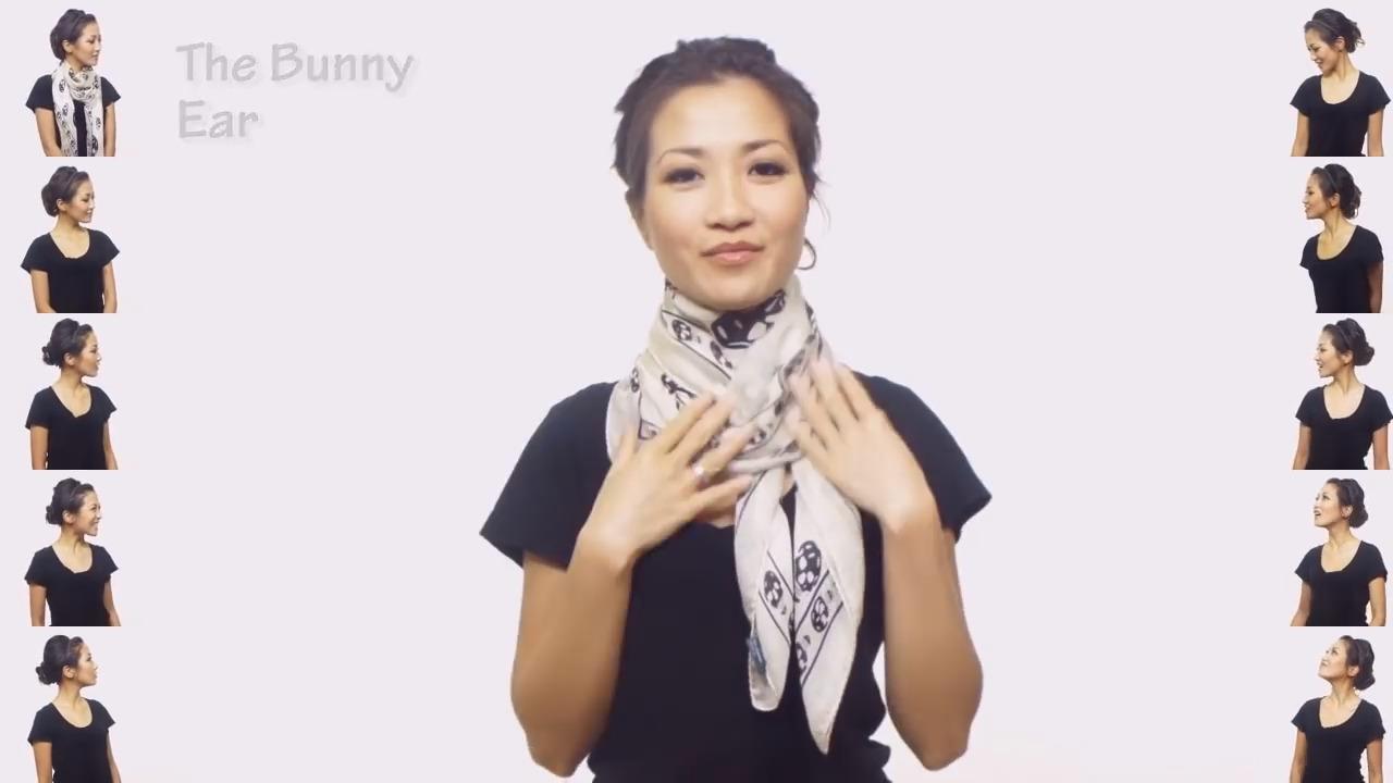 25 начини на кои може да ја врзете марамата