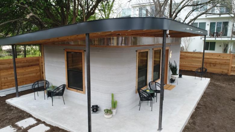 Куќа направена со помош на 3D печатар