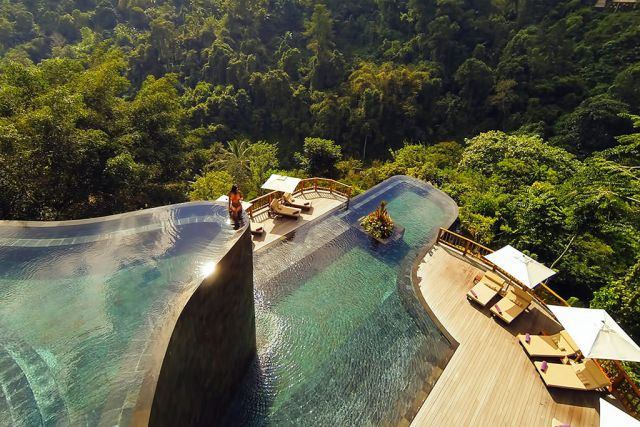 Висечките градини во Бали – луксузно одморалиште со уникатен поглед