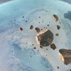 НАСА на Гренланд откри огромен кратер заробен во мразот
