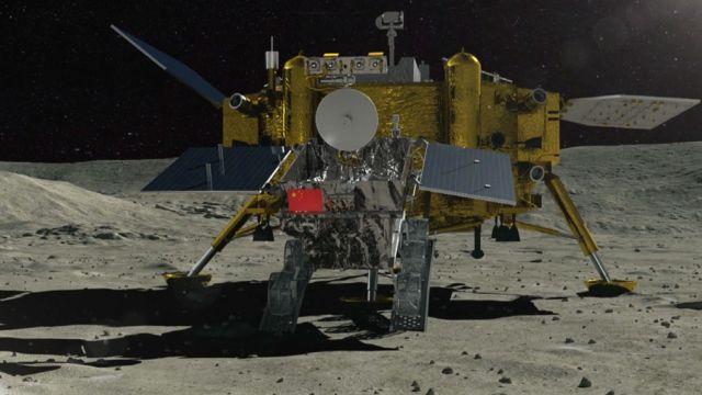 Кинеската сонда Chang'E-4 се подготвува за слетување на Месечината