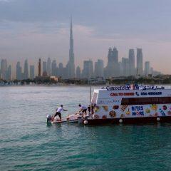Дубаи го има првиот пловечки супермаркет