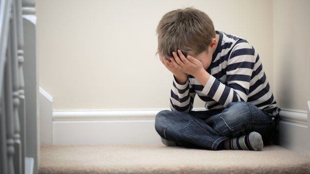 Стресот за време на детството може да доведе до оштетување на мозокот