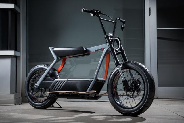 Електрични концепти на Harley-Davidson