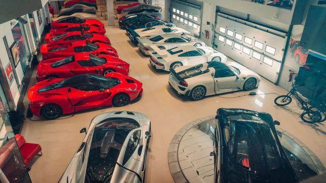 Најдобрата колекција суперавтомобили на светот