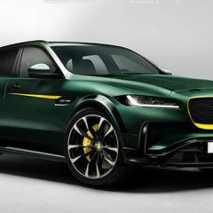 Jaguar F-Pace доработен од Lister достигнува 322 km/h