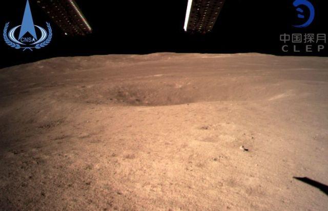 Кинеската лунарна сонда Chang'e 4 слета на Месечината и ја испрати првата фотографија