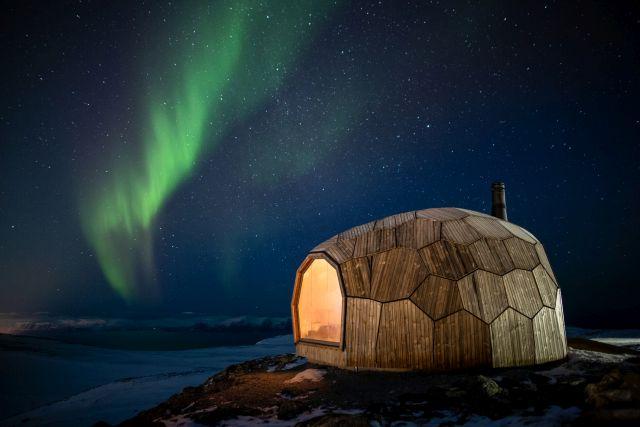 Модуларна колиба во најсеверниот град на светот