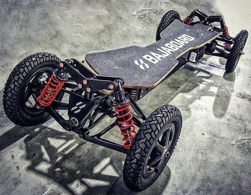 Bajaboard Pantera – лудиот електричен скејтборд
