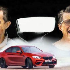 BMW M4 дрифта во рацете на 70-годишна жена