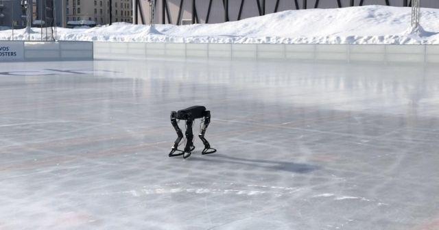 Робот изработен со помош на 3Д принтер научи да лизга