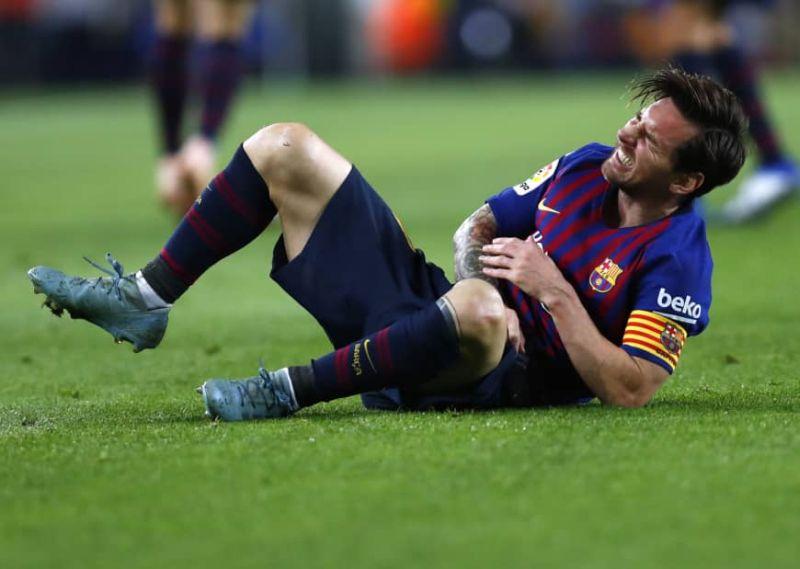 Меси е повреден! Моменти на страв во Барселона