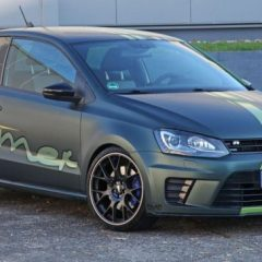 Уличниот ѕвер на Volkswagen со ознака Wimmer Polo R WRC
