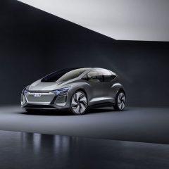 Ауди го претстави својот градски електричен автомобил, AI:ME