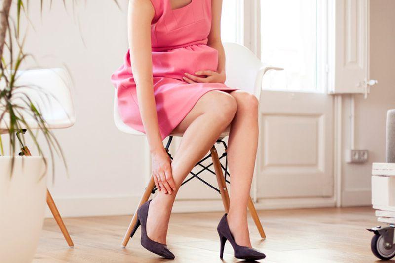 Бременоста и високите потпетици се лоша комбинација