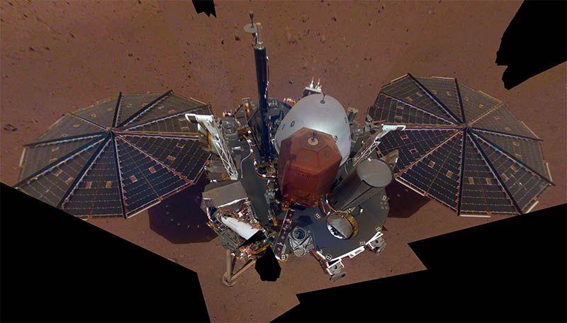 """Првиот потрес на Црвената планета забележан од """"InSight"""" на НАСА"""