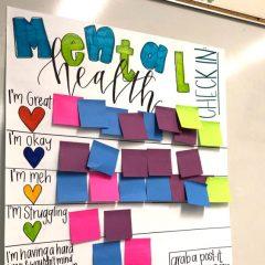 Наставничка од САД направи табла на која учениците можат да споделат како се чувствуваат
