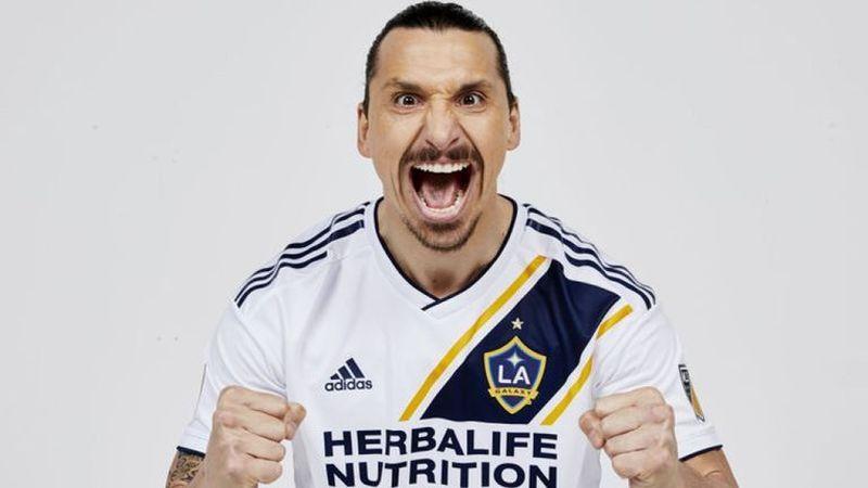 Ибрахимовиќ со трето полувреме на натпреварот помеѓу LA Galaxy и Real Salt Lake
