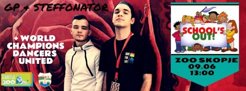 Во Скопје Зоо ќе се одржи забава за крајот на училишната година со ЏП и Стефонатор