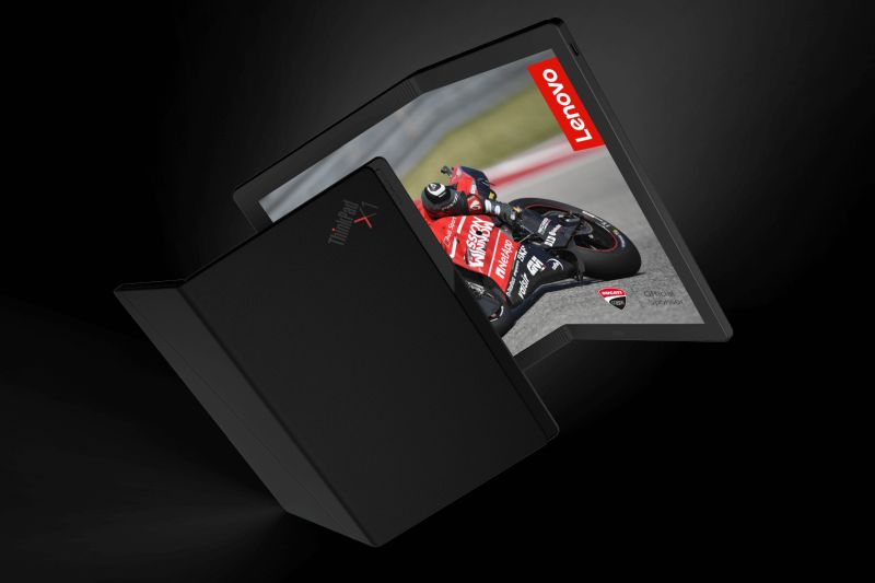 Леново најави преносен компјутер со 13,3-инчен OLED екран на превиткување