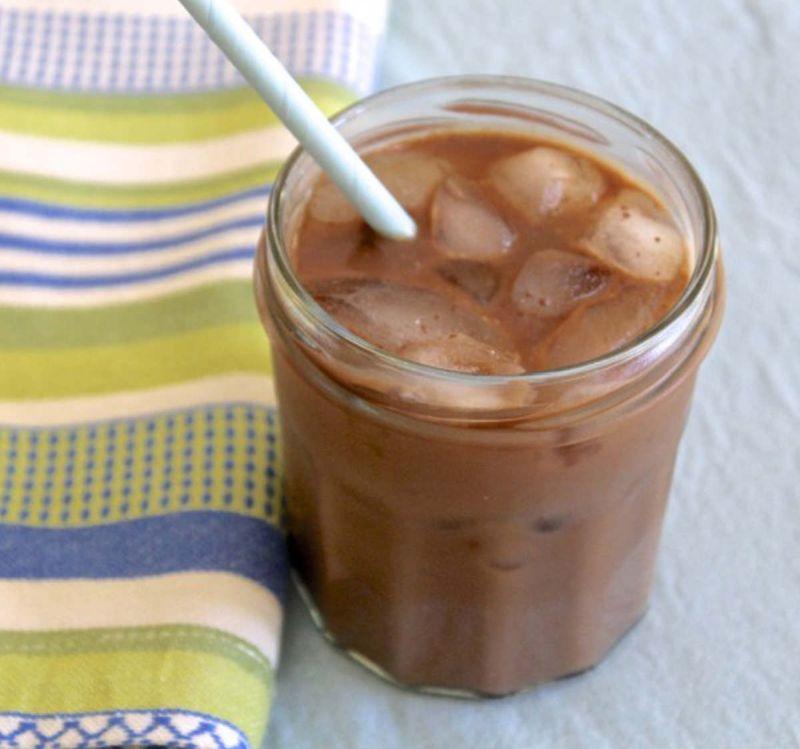 Ледено кафе со Нутела