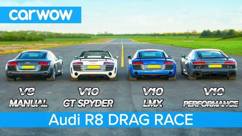 Еволуцијата на Audi R8