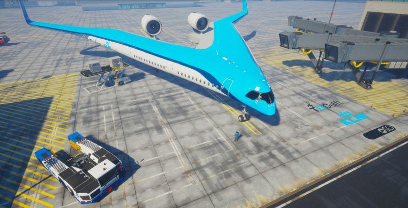 Flying-V, концепт кој ќе ја смени досегашната перцепција за патнички авион