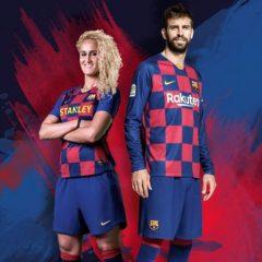 Барселона го покажа новиот дизајн на нивните дресови