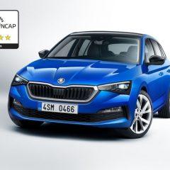 Новата шкода скала доби 5 ѕвезди за безбедност од Euro NCAP