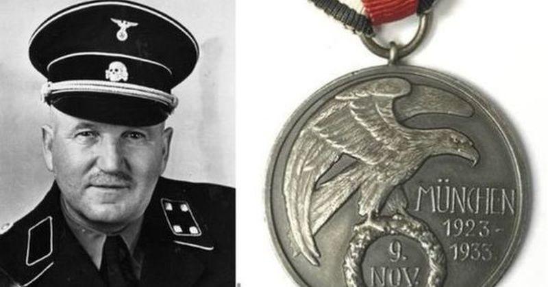 Нацистички орден продаден на аукција за сума од 45 000 долари