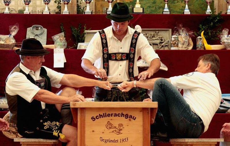 Баварците имаат едно од најнеобичните натпреварувања на светот