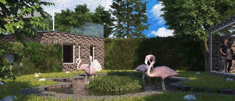 Во Зоолошката градина – Скопје се градат живеалишта за фламинга и за пингвини