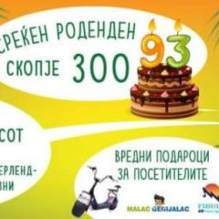 Голема роденденска забава во Скопје Зоо