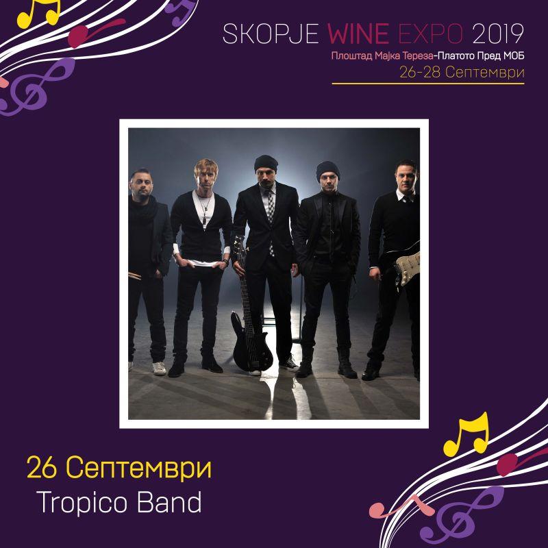 Претстојниот Skopje Wine Expo 2019 нуди богата музичка програма