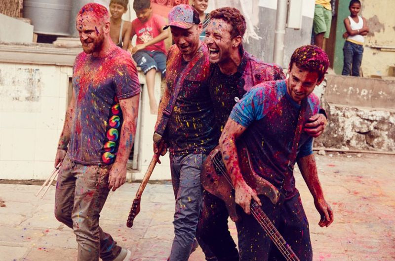 Coldplay – Hymn For The Weekend