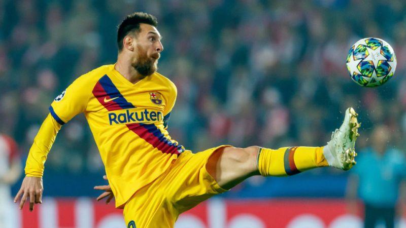 Нов рекорд на Лионел Меси во Лигата на шампиони
