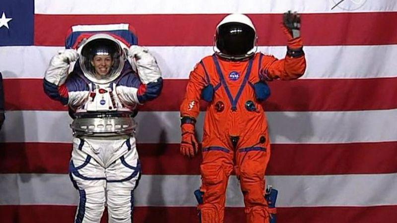 НАСА ги претстави најновите одела за престој во вселената