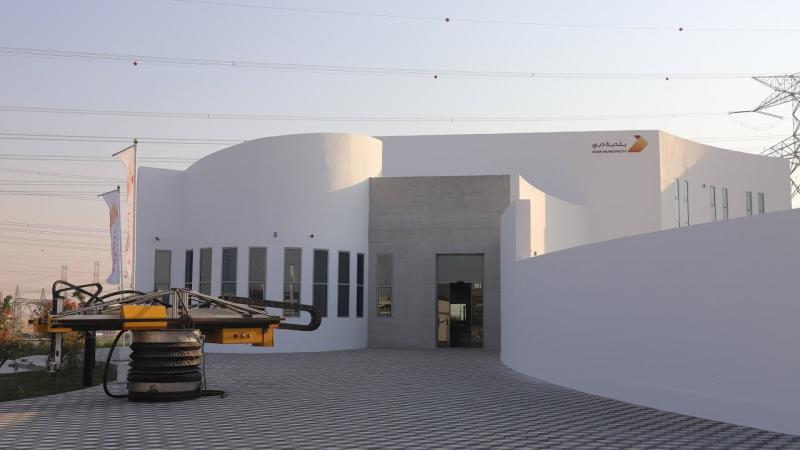Најголемата зграда испечатена со 3Д печатач е во Дубаи