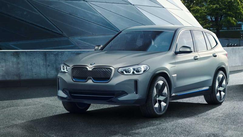 BMW iX3 во производство во 2020 година