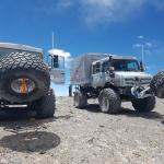 Mercedes-Benz Unimog се качи на вулкан во Чиле и постави рекорд