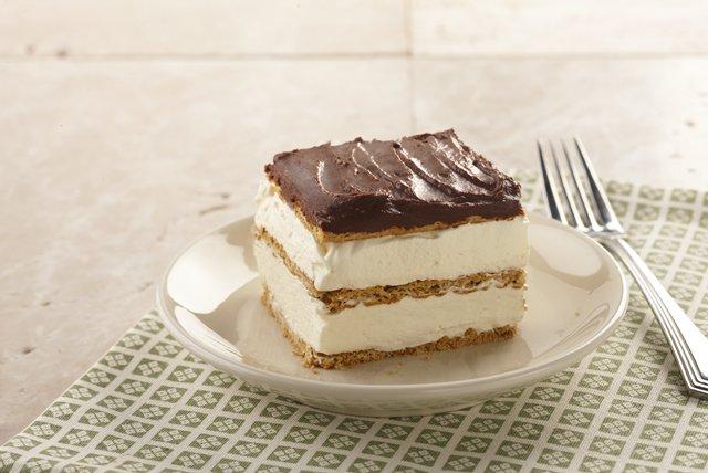 Еклер торта што не се пече